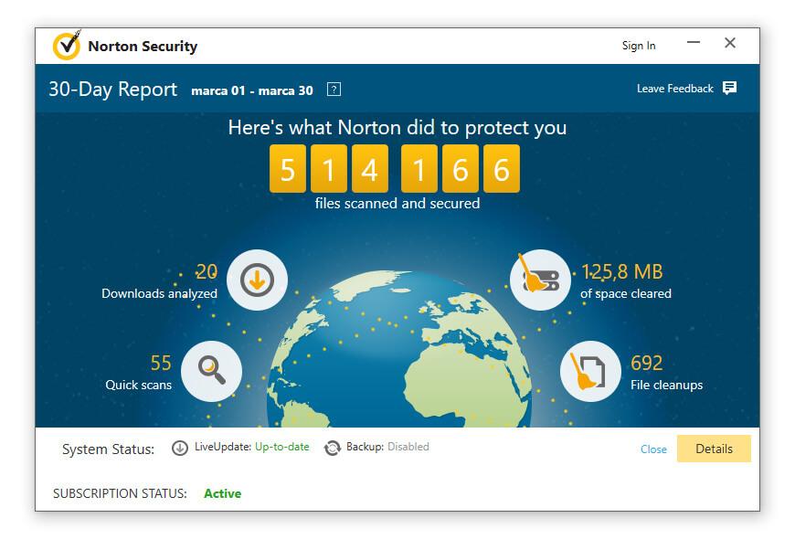 Norton Internet Security Report